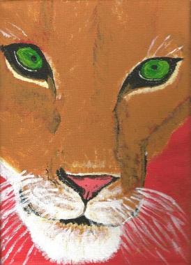 Lioness - Acrylic