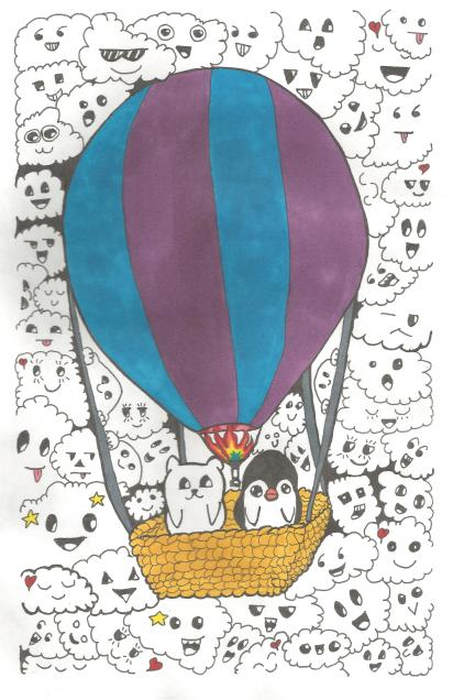 Doodle Art #2 - with colour