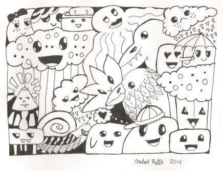 doodle art 1